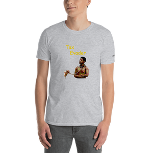 Kunta The Tax Evader Short-Sleeve Unisex T-Shirt (153 g/m²) - Voice4liberty
