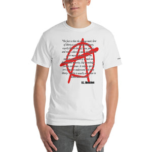 Outlaw - Mencken Quote T-Shirt - Voice4liberty