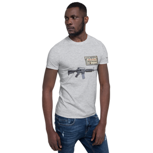 SS account #- Short-Sleeve Unisex T-Shirt (153 g/m²) - Voice4liberty