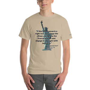 The Citizen Can Ignore the License T-Shirt - Voice4liberty