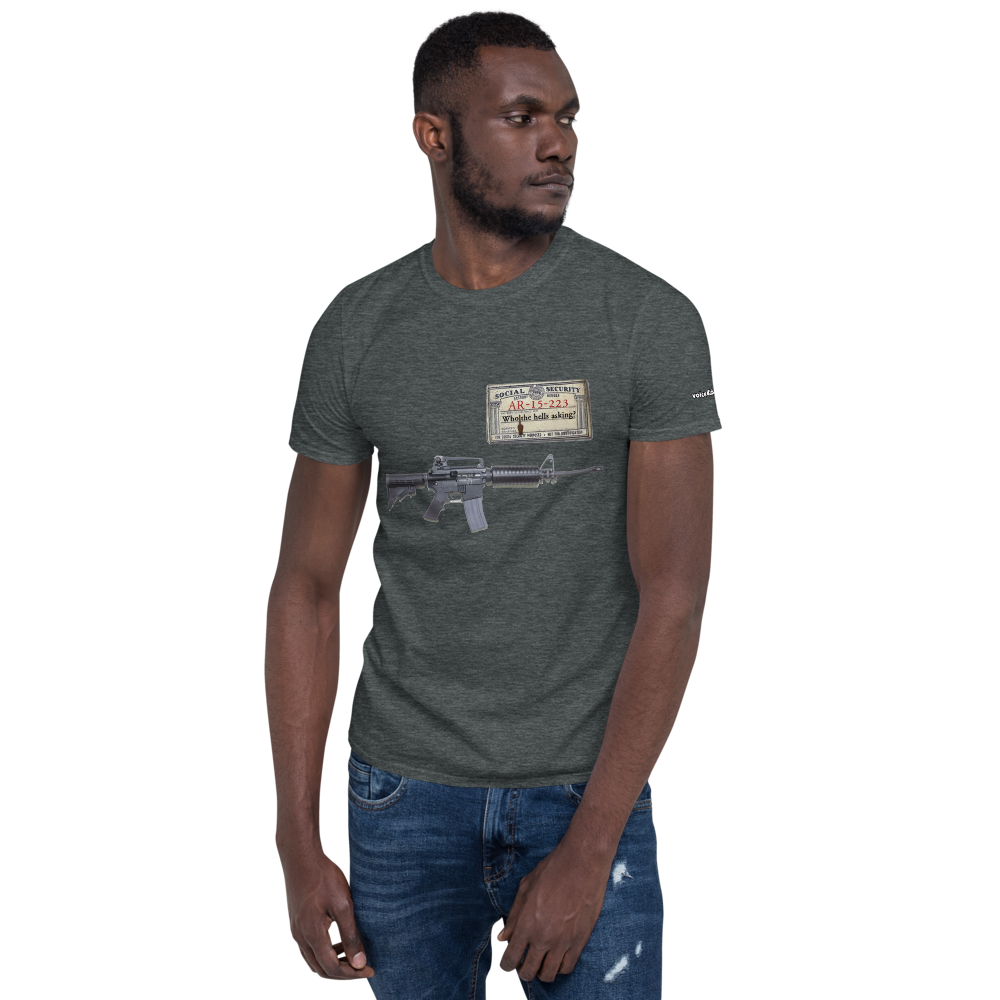 SS account #- Short-Sleeve Unisex T-Shirt (153 g/m²)