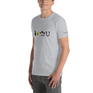 Peace Bee W/U (3)-Short-Sleeve Unisex T-Shirt (153 g/m²) - Voice4liberty