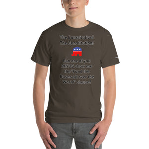 Bases All Over The World T-Shirt - Voice4liberty