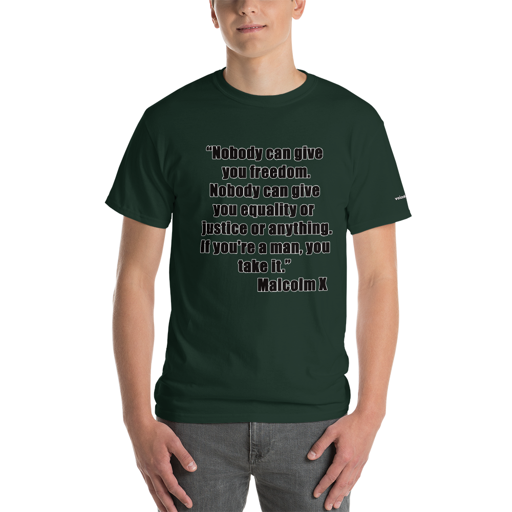 Malcolm X T-Shirt - Voice4liberty