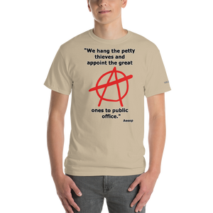 Hang the Petty Thieves T-Shirt - Voice4liberty
