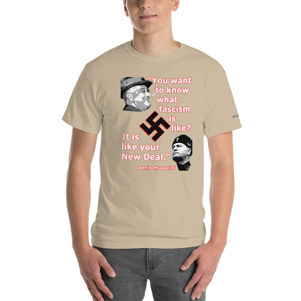 Fascism T-Shirt - Voice4liberty