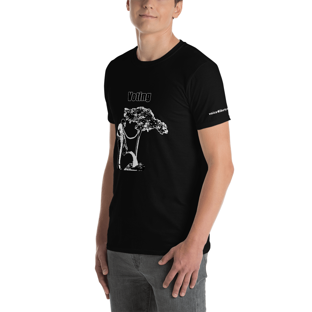 Voting - Short-Sleeve Unisex T-Shirt (153 g/m²) - Voice4liberty