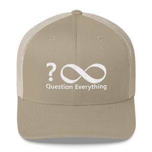 Question Everything Trucker Cap (comes in four colors) - Voice4liberty