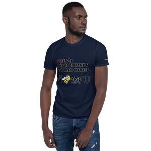Peace Bee W/U (2) Short-Sleeve Unisex T-Shirt (153 g/m²) - Voice4liberty