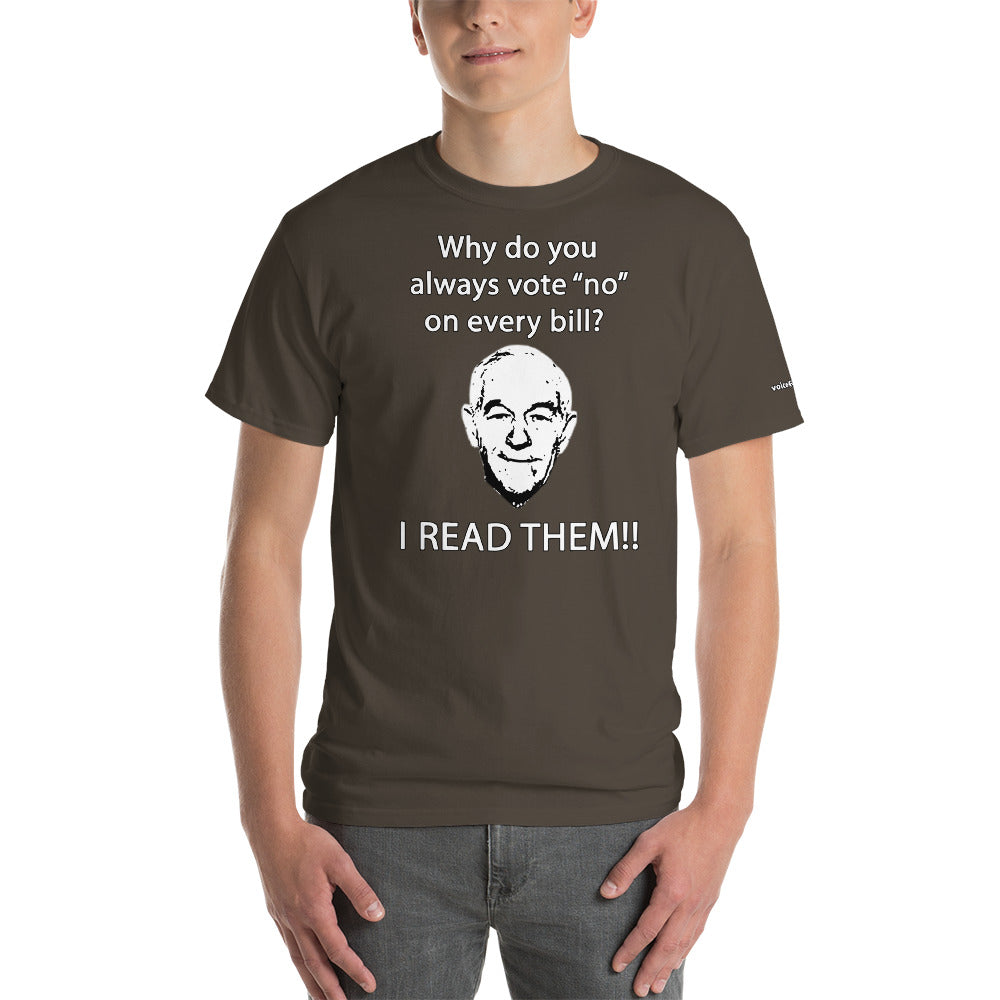 I READ THEM T-Shirt - Voice4liberty