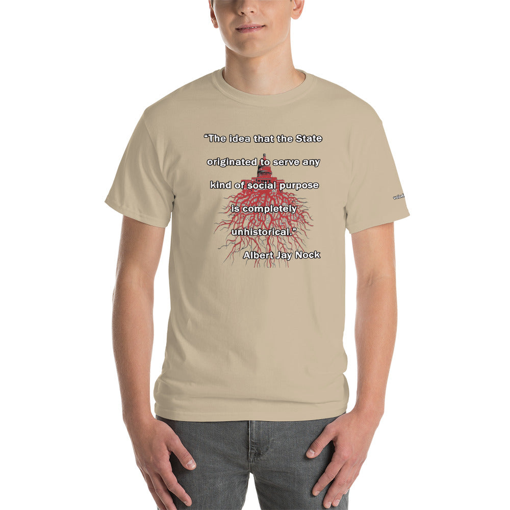 Albert J Nock Unhistorical Quote T-Shirt - Voice4liberty