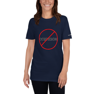 Coercion - Short-Sleeve Unisex T-Shirt (153 g/m²) - Voice4liberty