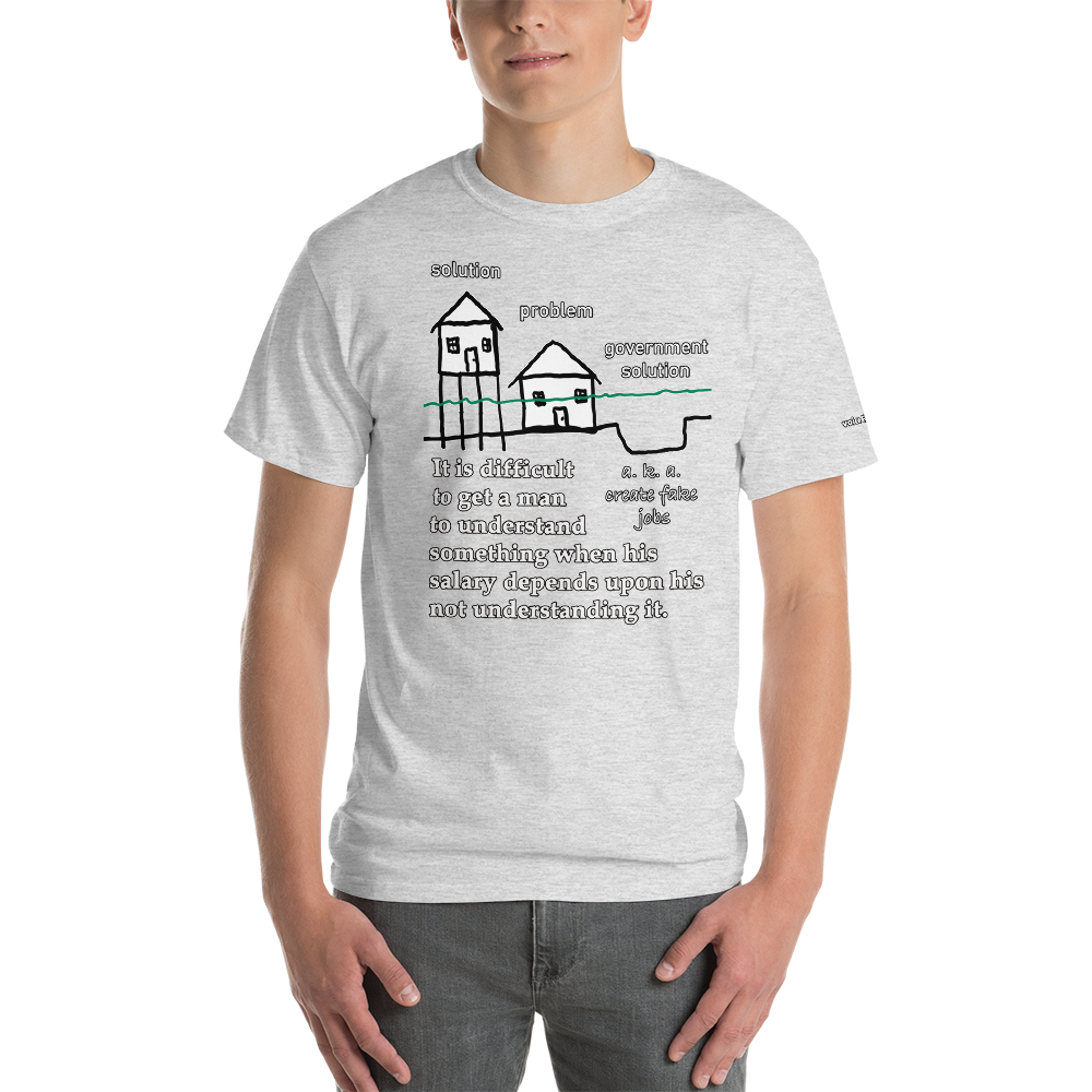 Government Solution T-Shirt - Voice4liberty