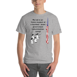 Indoctrination Camp T-Shirt - Voice4liberty