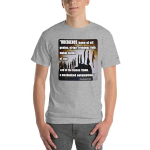 Obedience Makes Slaves of Men T-Shirt - Voice4liberty