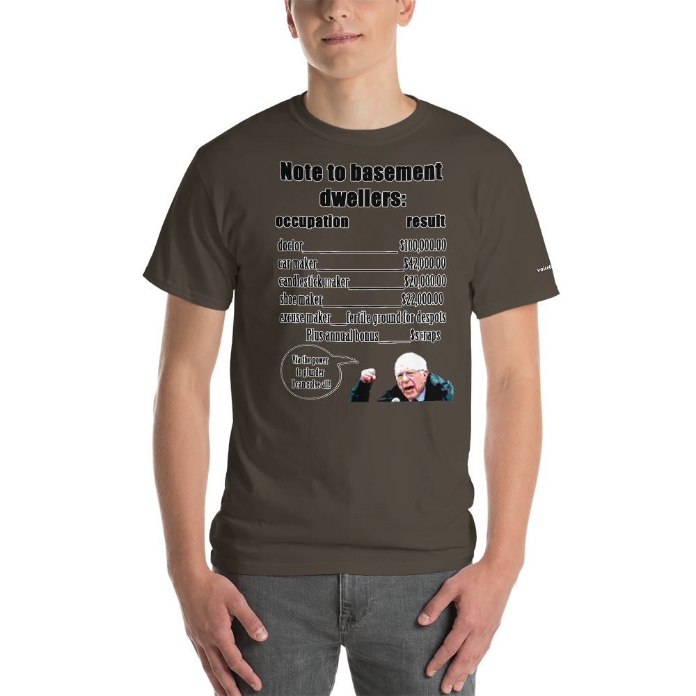 Basement Dwellers T-Shirt - Voice4liberty
