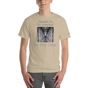 Consent to be Governed T-Shirt - Voice4liberty