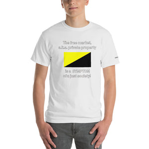 Private Property Symptom of Justice T-Shirt - Voice4liberty