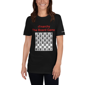 Anarchy The Board Game - Short-Sleeve Unisex T-Shirt (153 g/m²) - Voice4liberty