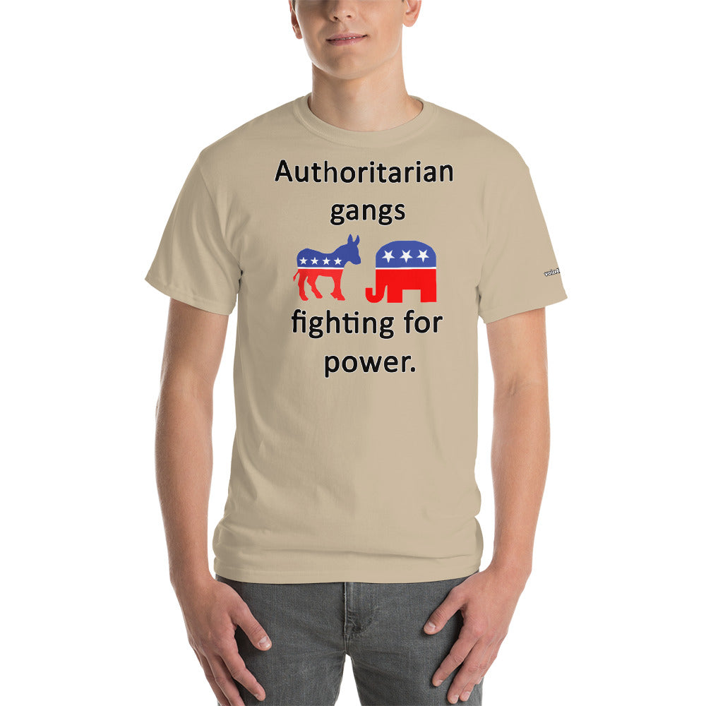 Authoritarian Gangs T-Shirt - Voice4liberty