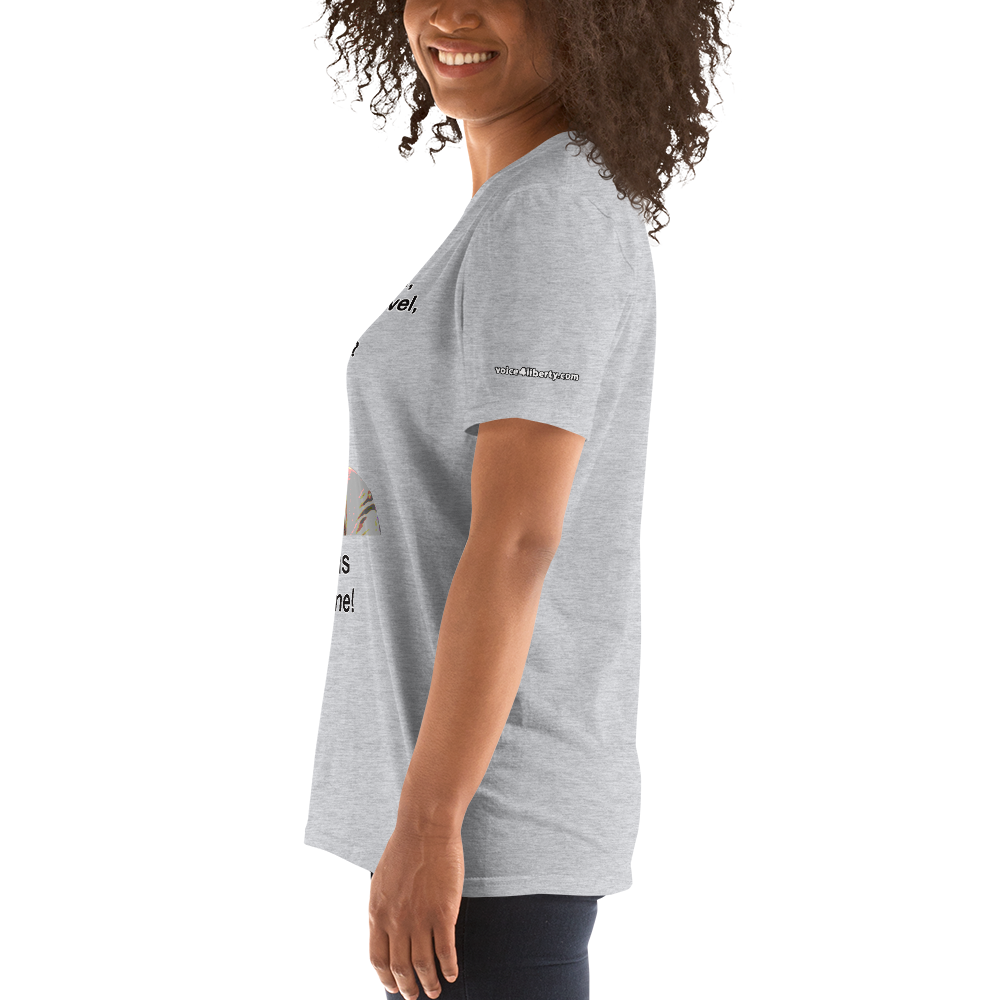 Farley Awesome - Short-Sleeve Unisex T-Shirt (153 g/m²) - Voice4liberty
