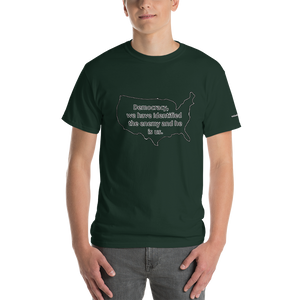 The enemy is Us Short-Sleeve T-Shirt - Voice4liberty