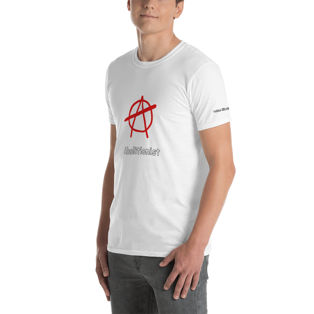 Abolitionist Short-Sleeve Unisex T-Shirt (153 g/m²) - Voice4liberty