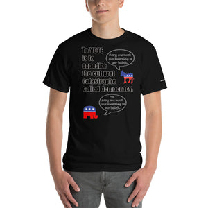 Cultural Catastrophe T-Shirt - Voice4liberty