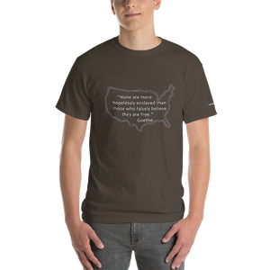Goethe Quote Short-Sleeve T-Shirt - Voice4liberty