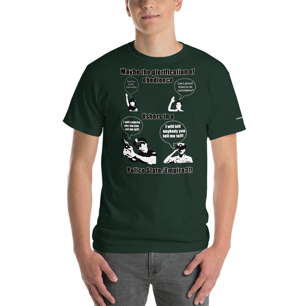 The Worship of Obedience Short-Sleeve T-Shirt - Voice4liberty