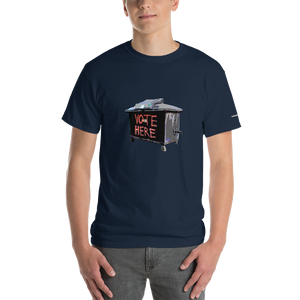 Vote Here Short-Sleeve T-Shirt - Voice4liberty
