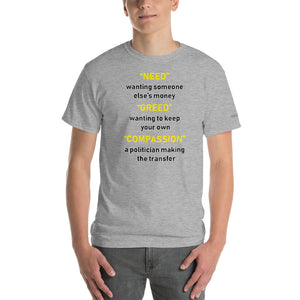 Theft is Compassion T-Shirt - Voice4liberty