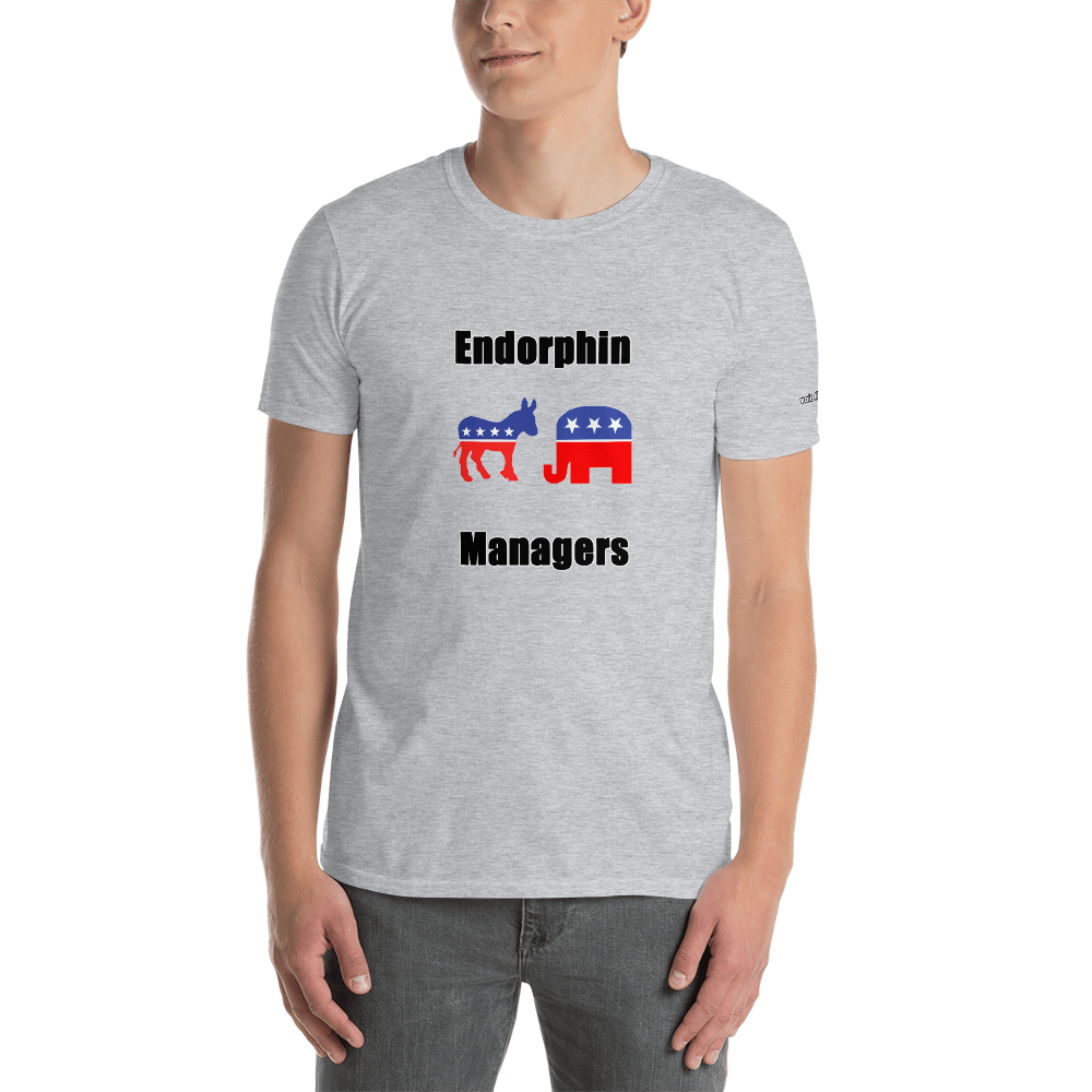Endorphin Managers-Short-Sleeve Unisex T-Shirt  (153 g/m²) - Voice4liberty