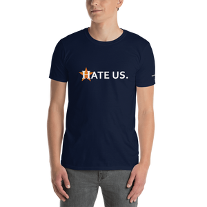 HATE US Short-Sleeve Unisex T-Shirt (153 g/m²) - Voice4liberty