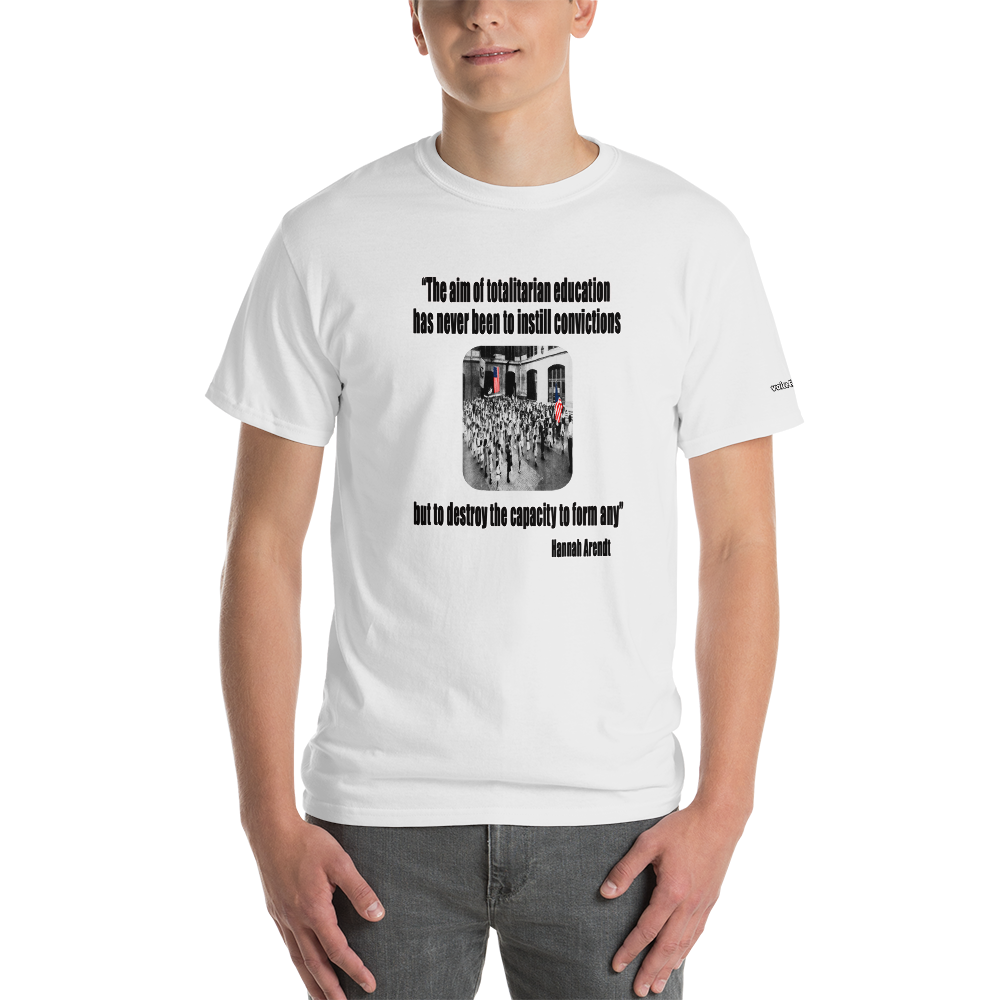Hannah Arendt Education T-Shirt - Voice4liberty