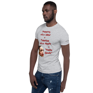Public Goods-Short-Sleeve Unisex T-Shirt (153 g/m²) - Voice4liberty
