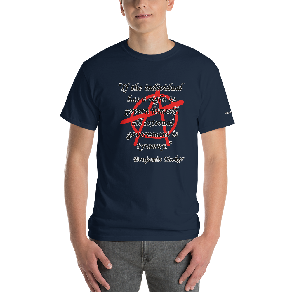 Government is Tyranny T-Shirt - Voice4liberty