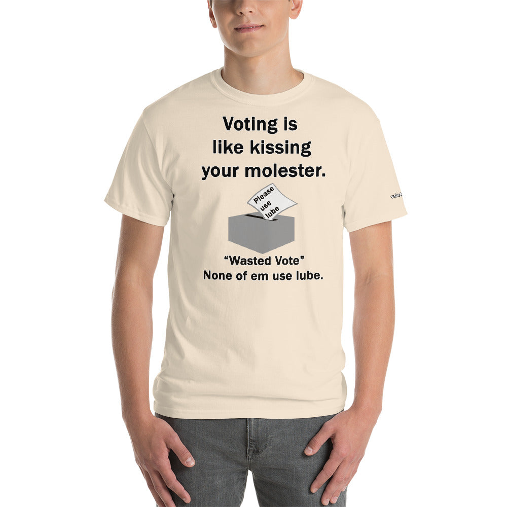 Kissing Your Molester T-Shirt - Voice4liberty