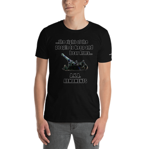 Armaments-Short-Sleeve Unisex T-Shirt (153 g/m²) - Voice4liberty