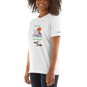 How a bill becomes a law - Short-Sleeve Unisex T-Shirt (153 g/m²) - Voice4liberty