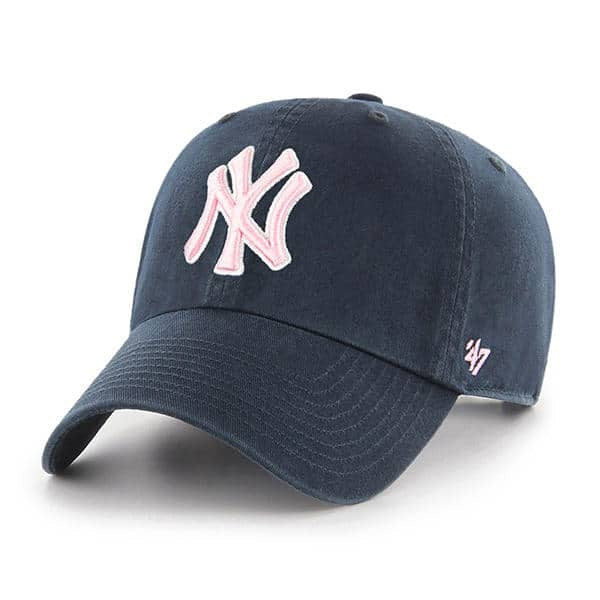 47 New York Yankees Strapback Hat Brand Pastel Clean Up Slouch Fit ... 52223225a39