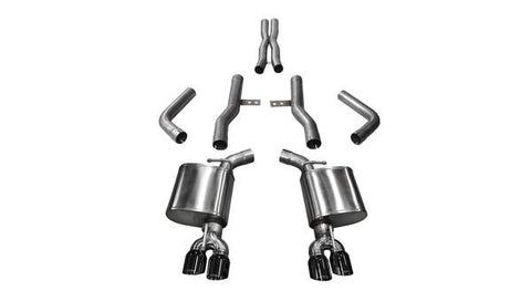 Corsa Xtreme Cat-Back Exhaust Dodge Challenger ScatPack, SRT & Hellcat (15-19)