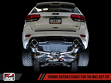 AWE Touring Edition Cat-Back Exhaust / 2014+ Jeep Grand Cherokee WK2 SRT 6.4L V8