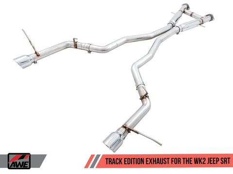 AWE Track Edition Cat-Back Exhaust / 2014+ Jeep Grand Cherokee WK2 SRT 6.4L V8