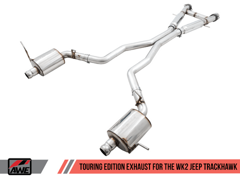 AWE Touring Edition Cat-Back Exhaust / 2018+ Jeep Grand Cherokee WK2 Trackhawk 6.2LSC V8