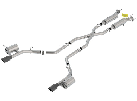 Borla Cat-Back Exhaust S-Type Dodge Durango SRT (18-20) 6.4L V8