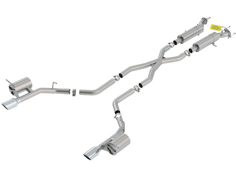 Borla Cat-Back Exhaust ATAK Dodge Durango SRT (18-20) 6.4L V8