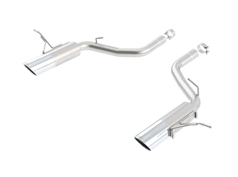 Borla Axle-Back Exhaust S-Type Jeep Grand Cherokee SRT WK2 (12-18)  V8 6.4L Hemi