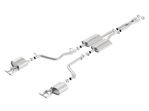 Borla Cat-Back Exhaust S-TYPE / Dodge Challenger SE/SXT V6 (2011-2014)