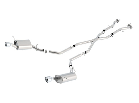 Borla Cat-Back Exhaust S-Type Dodge Durango (11-20) 3.6L V6 / 5.7L V8